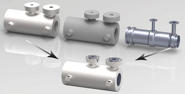 Powdermet® kullanılarak 3D baskıyla net şekle yakın imal edilen kovan muhafazası